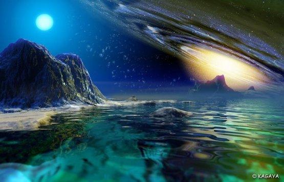 kosmos,woda,góry,szmaragd,net
